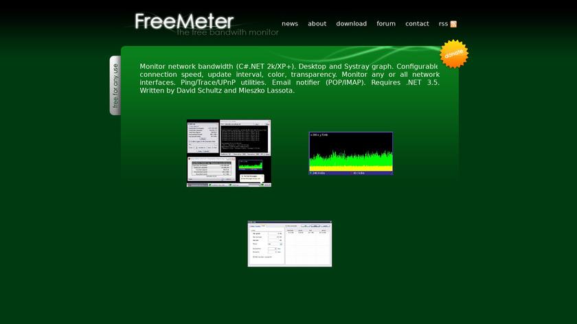 FreeMeter Landing Page