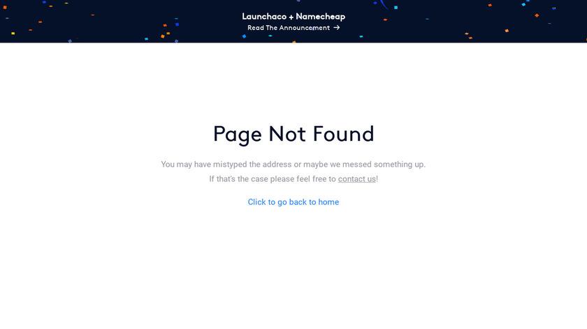 Launchaco Landing Page