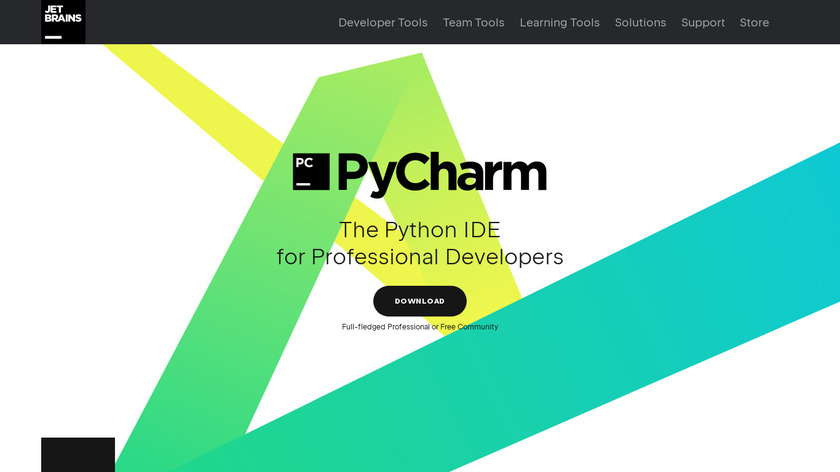 PyCharm Landing Page
