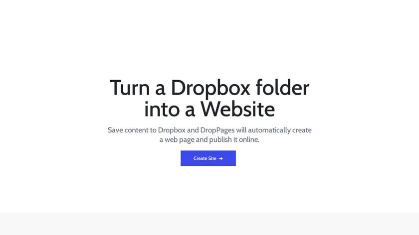 Droppages Landing Page