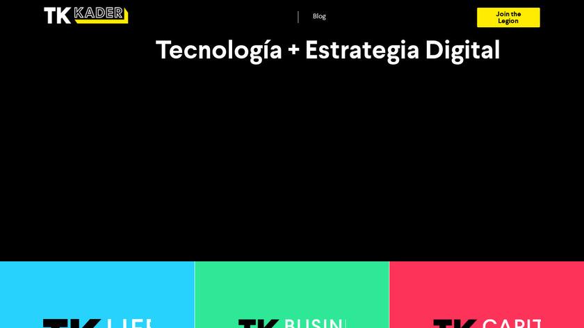Marketero Landing Page