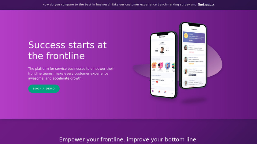 AskNicely Landing Page