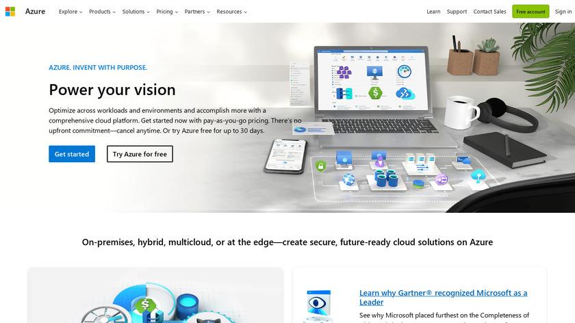 Microsoft SQL Server Landing Page