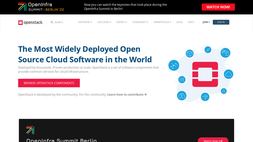 OpenStack Landing Page