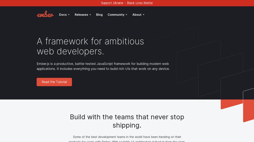 ember.js Landing Page