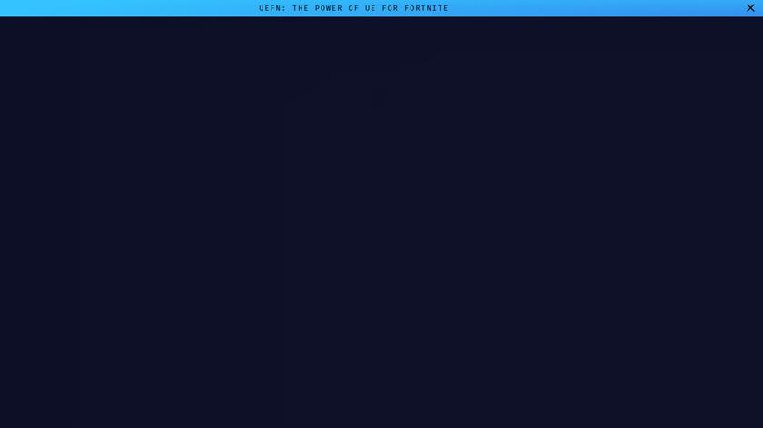 Unreal Engine Landing Page