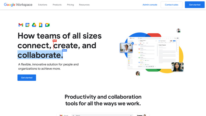 G Suite Landing Page