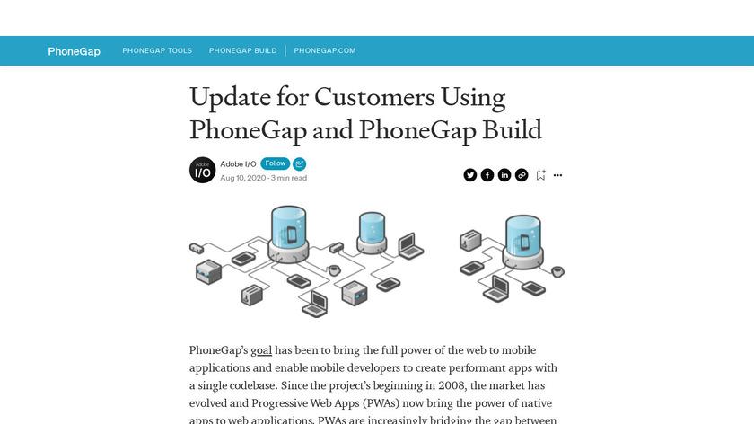 PhoneGap Landing Page