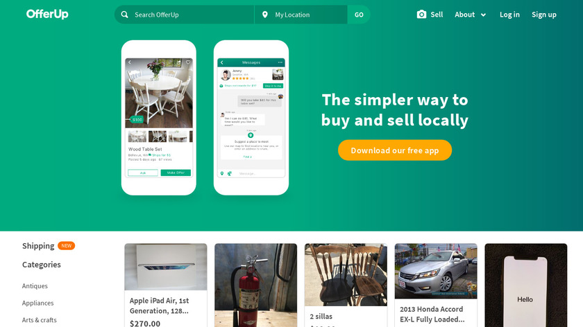 OfferUp Landing Page