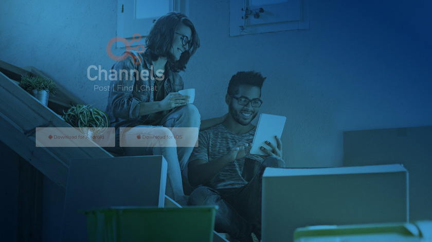 Channels Landing Page