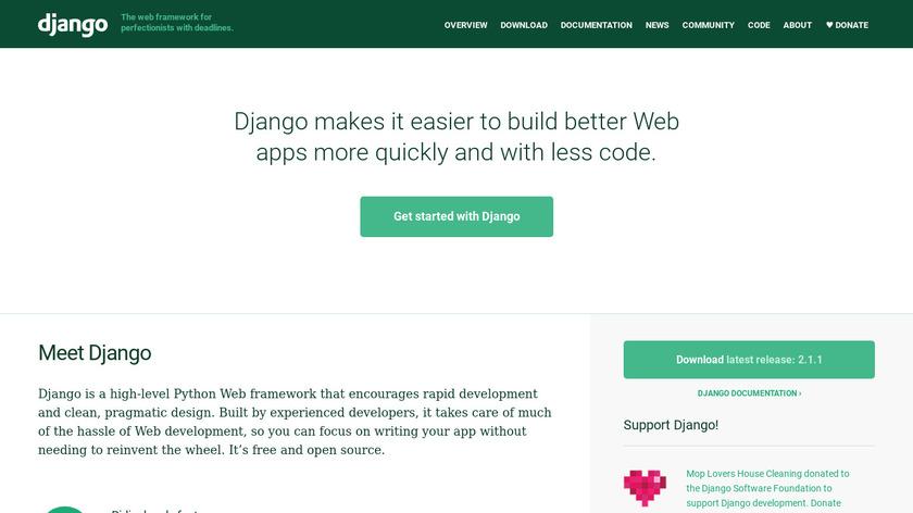 Django Landing Page