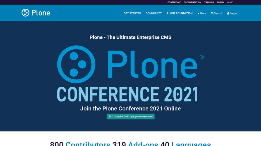 Plone Landing Page