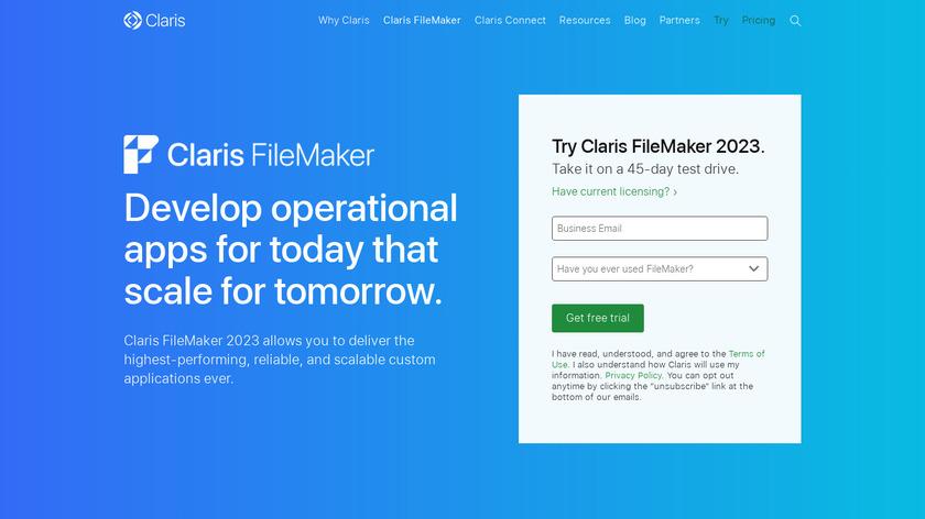 Compare Zoho Creator VS FileMaker Pro - SaaSHub
