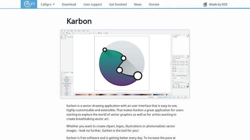 Karbon Landing Page
