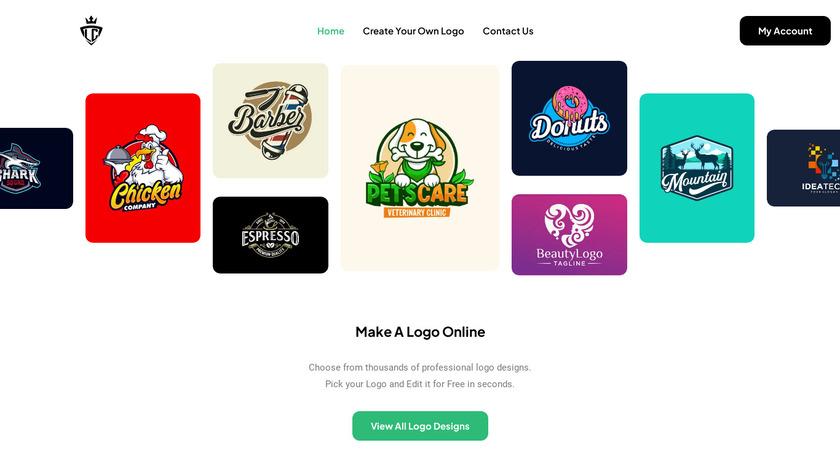 LogoCrisp Landing Page