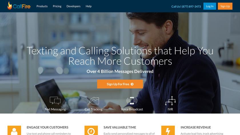 CallFire Landing Page