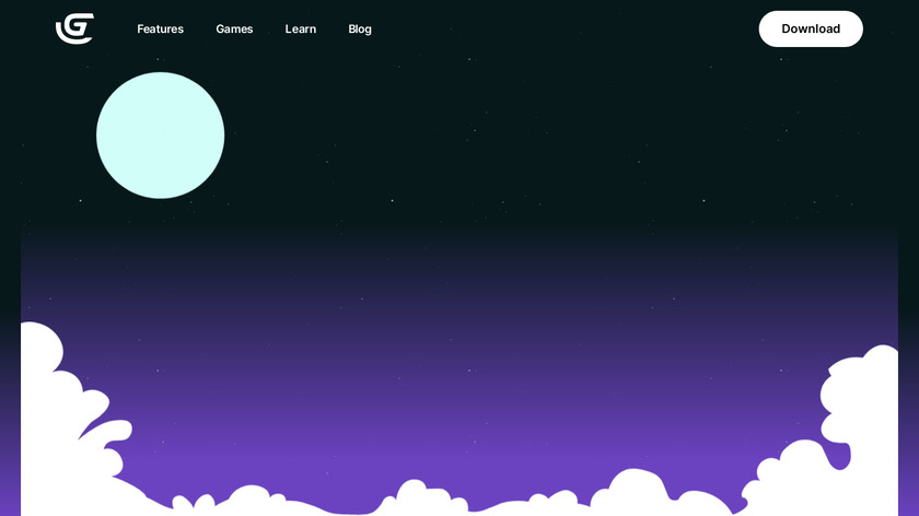 GDevelop Landing Page