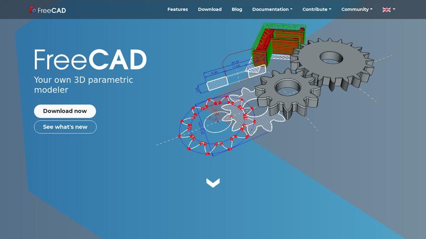 FreeCAD Landing Page