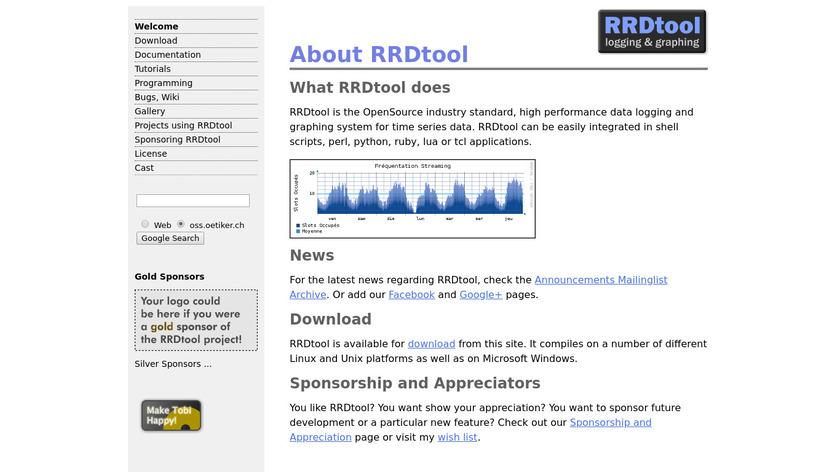 RRDTool Landing Page