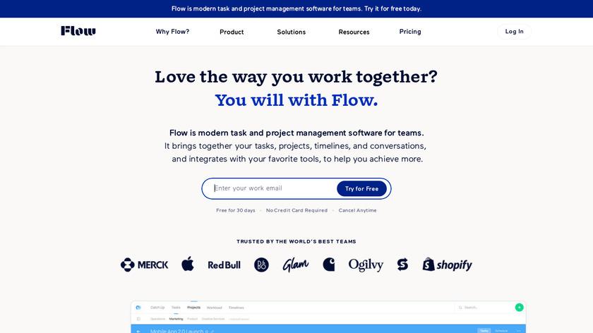 Flow Landing Page
