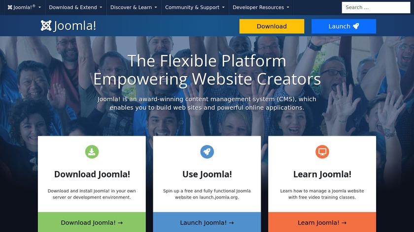 Joomla Landing Page