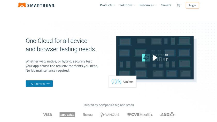 CrossBrowserTesting Landing Page