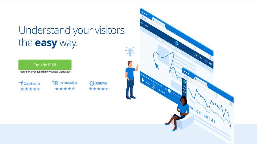 StatCounter Landing Page