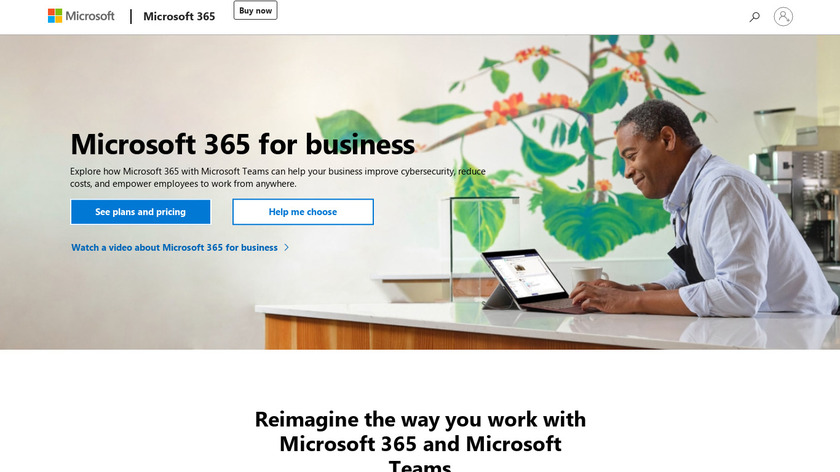 Office 365 Landing Page