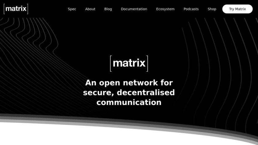 Matrix.org Landing Page