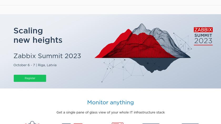 Zabbix Landing Page