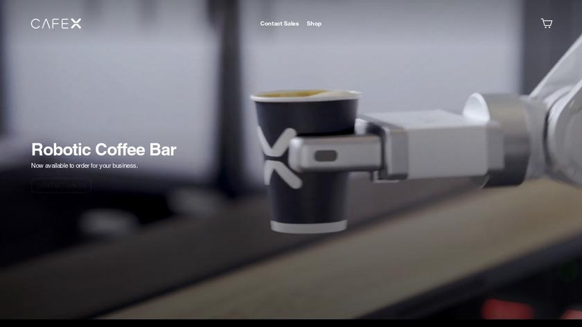 Cafe X Landing Page