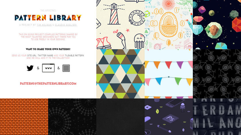 The Pattern Library Landing Page