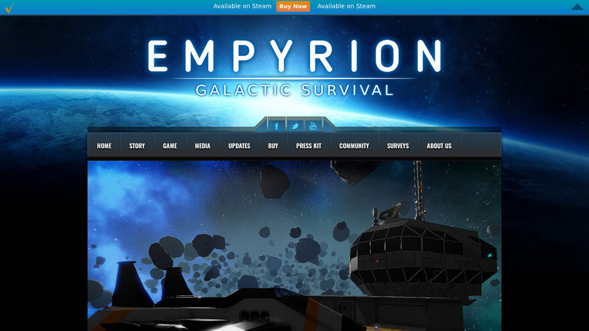 Empyrion Landing Page