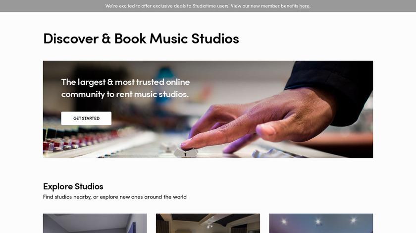 Studiotime Landing Page