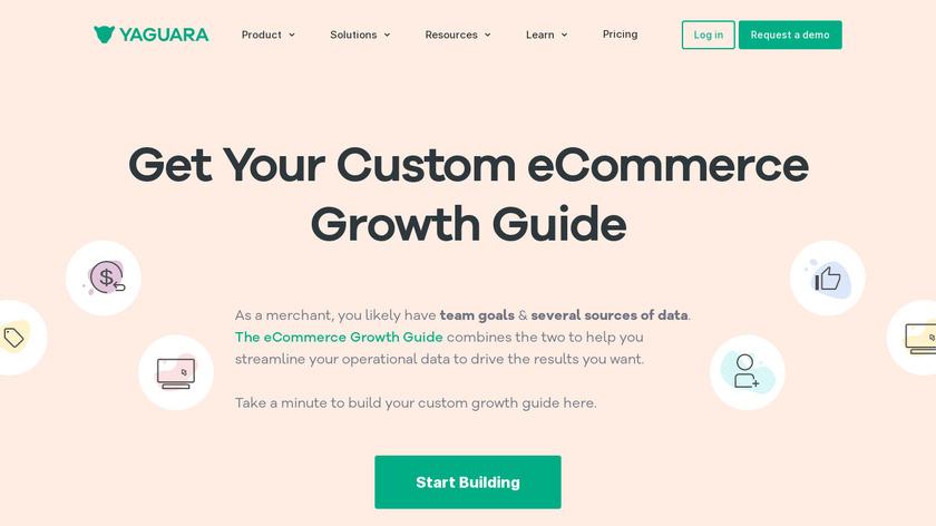 The Growth Machine by Yaguara Landing Page