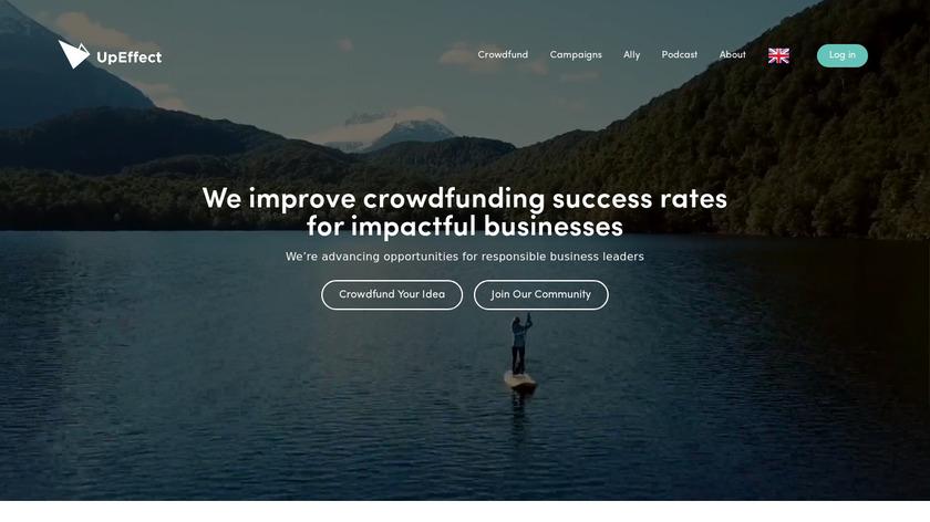 UpEffect Landing Page
