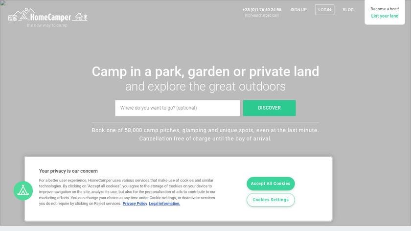 Gamping Landing Page