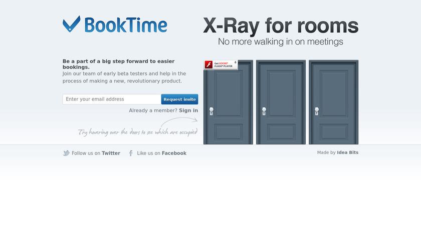 BookTime Landing Page