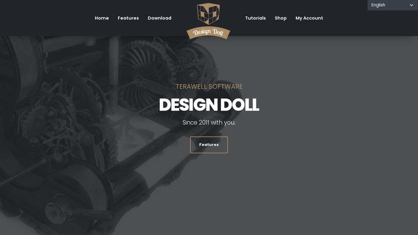 DesignDoll Landing Page