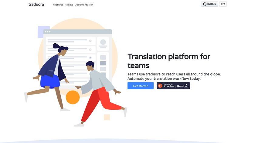 traduora Landing Page