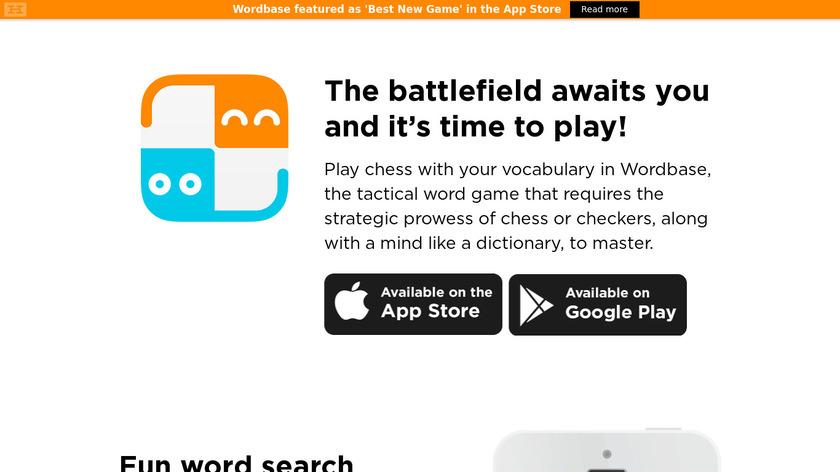 Wordbase Landing Page