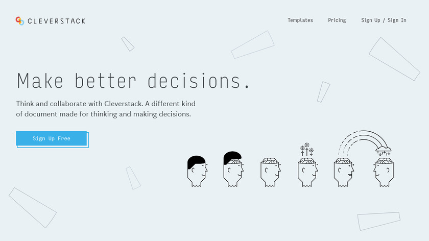 Cleverstack Landing Page