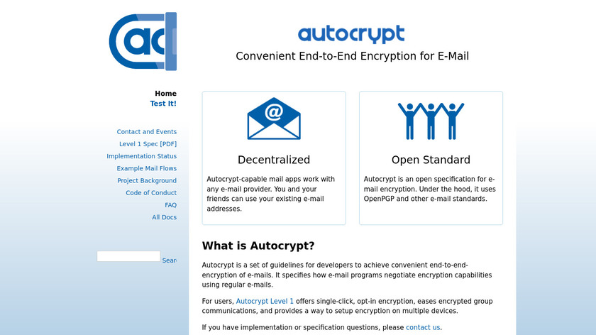 Autocrypt Landing Page