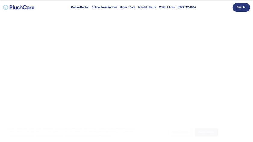 PlushCare Landing Page