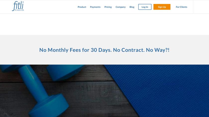 fitli.com Landing Page