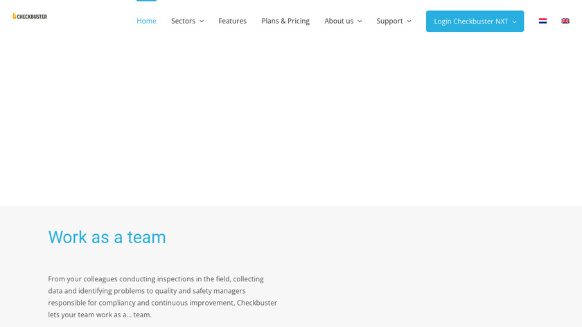 Checkbuster Landing Page