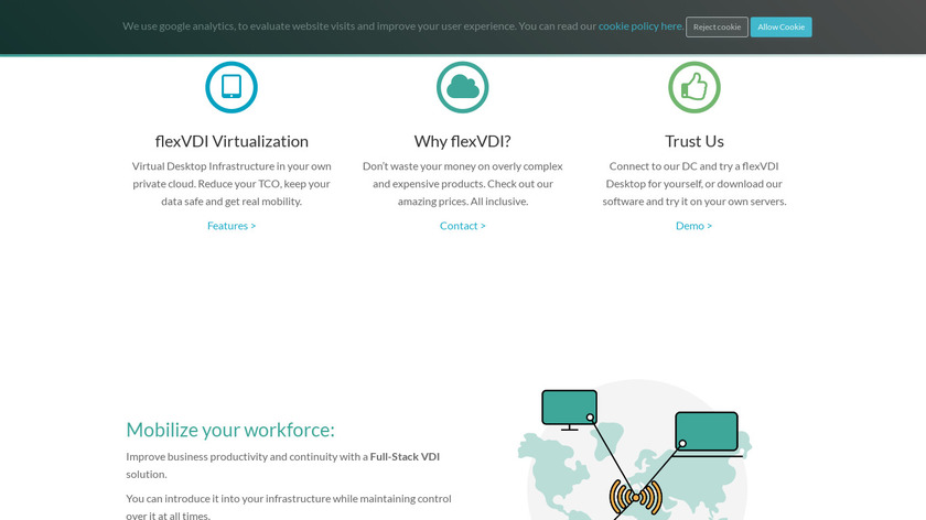 flexVDI Landing Page