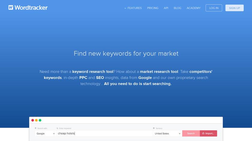 Wordtracker Landing Page