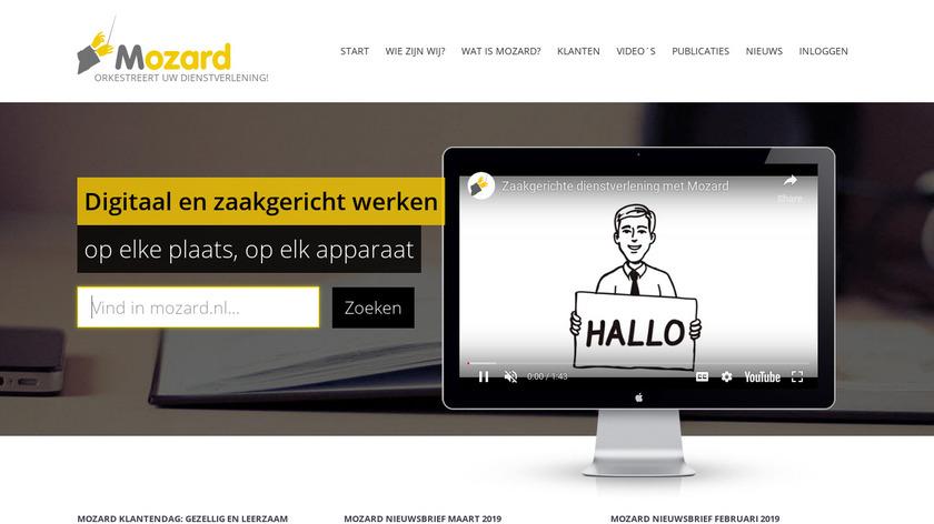 Mozard Landing Page