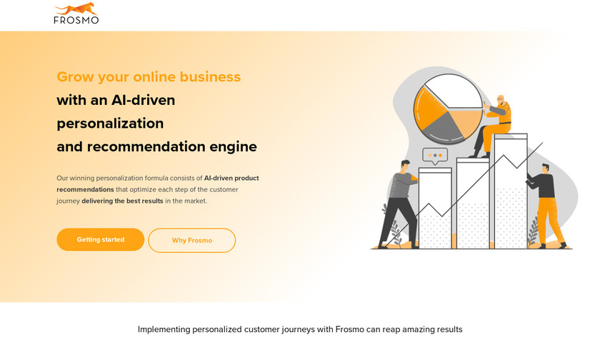 Frosmo Landing Page